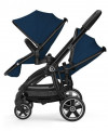 KIDDY EVOSTAR 1 podwójny wózek spacerowy Mountain Blue