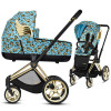 CYBEX PRIAM CHERUBS wózek 3w1 z CLOUD Z i-Size Blue